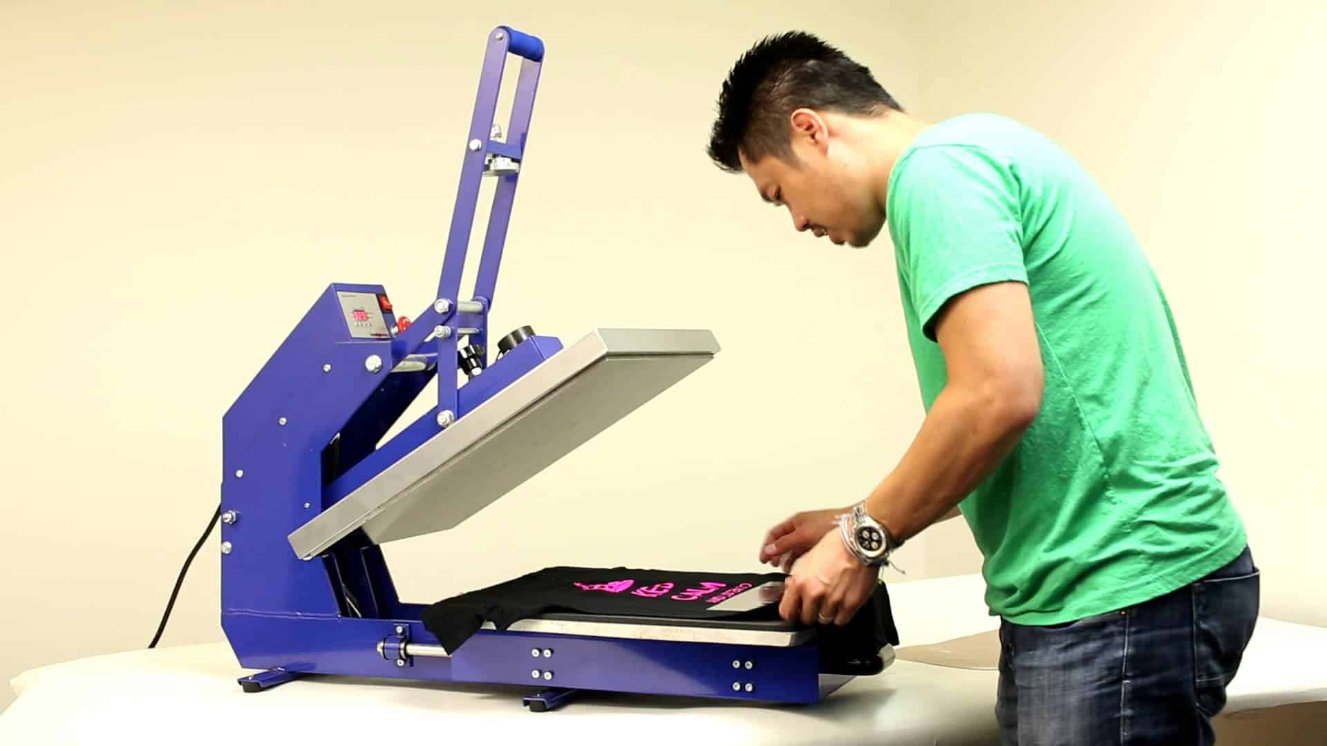 best heat press machine for beginners