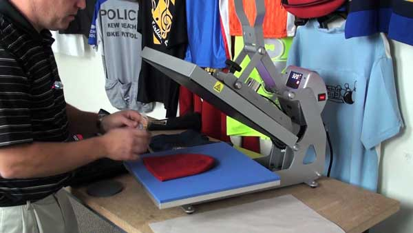 can you heat press on polyester