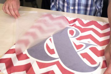 flocked heat transfer vinyl